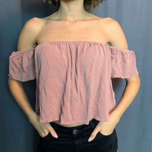 Show me your Mumu off the shoulder top